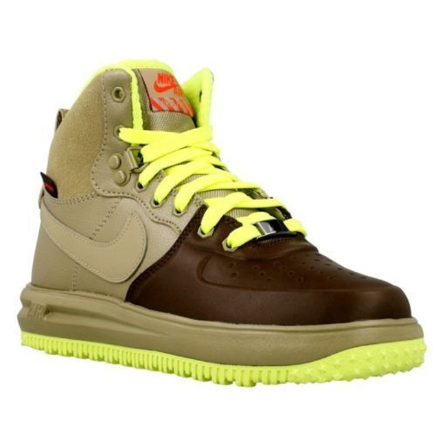 BOYS NIKE LUNAR FORCE 1 SNEAKERBOOT GS (706803 201) SZ: 5.5Y (24CM)