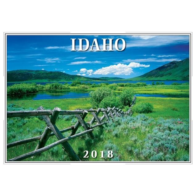 2018 Idaho Wall Calendar
