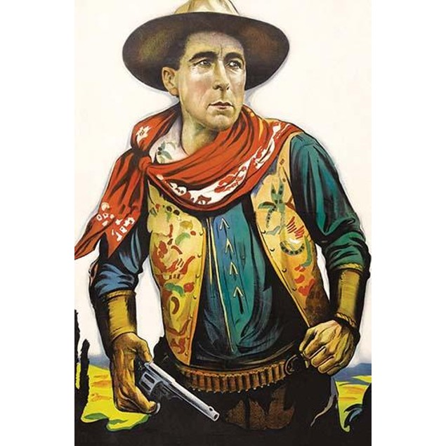 Great Cowboy portrait - no writing Poster