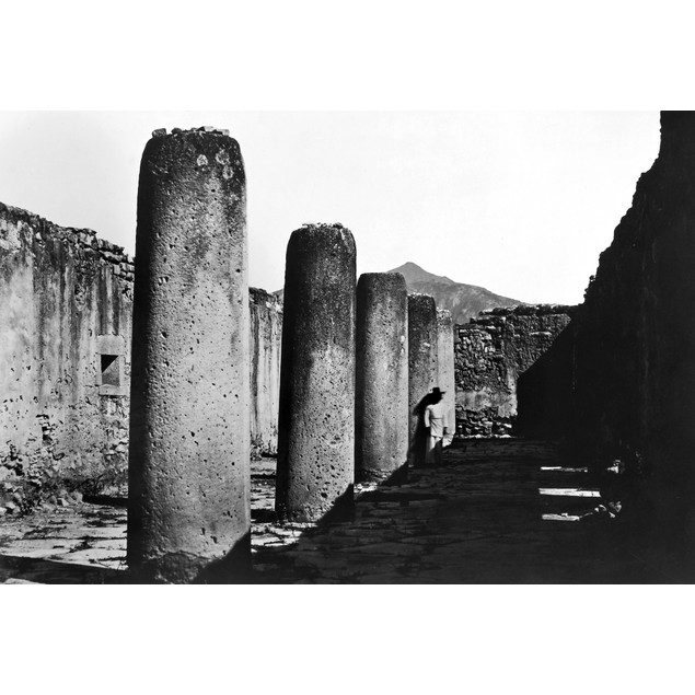 Mexico: Mitla, C1852. /Nruins Of The Great Hall Of The Zapotec Ruins Of Mit