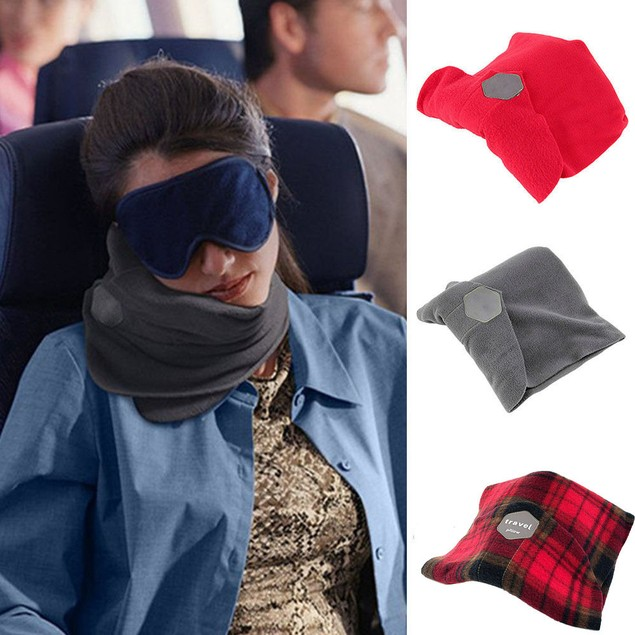 Pillow Neck Support Super Soft Comfortable For Head Chin Cushion Scarf