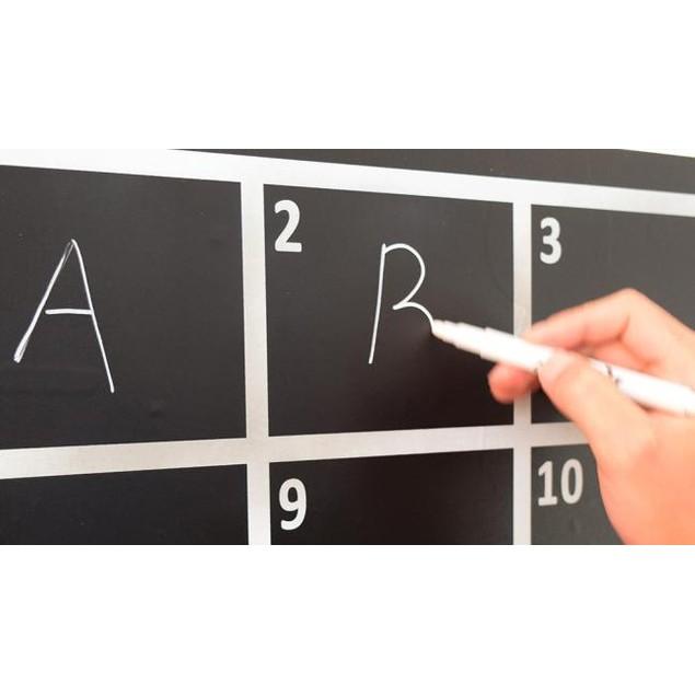 1PC White Liquid Chalk Pen Marker For Glass Windows Chalkboard Blackboard