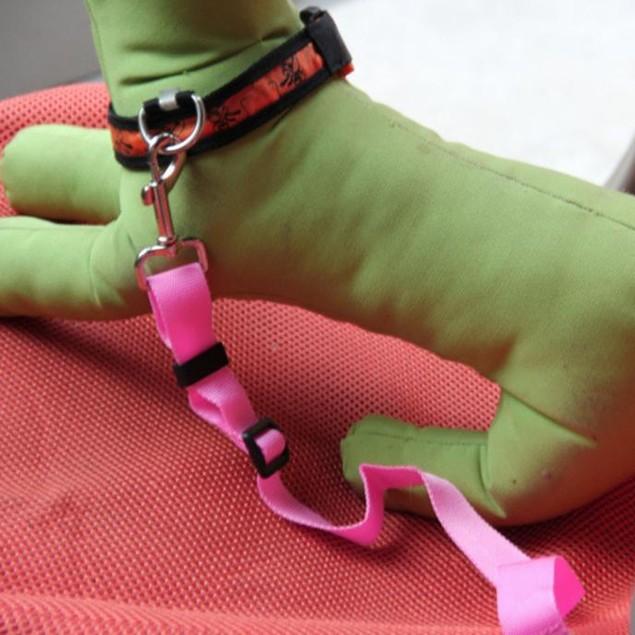 Vehicle Car Seat Belt Seatbelt Harness Lead Clip Pet Safety