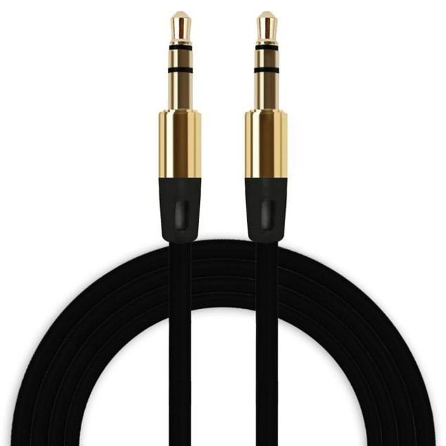 3.5mm Auxiliary Cable Audio Cable Male To Male Flat Aux Cable