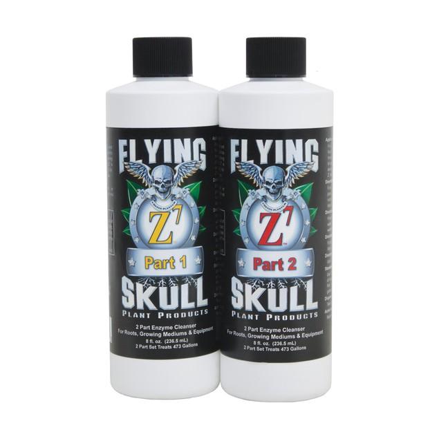 Flying Skull Z7 Enzyme Cleanser, 8 oz (part 1 & 2)