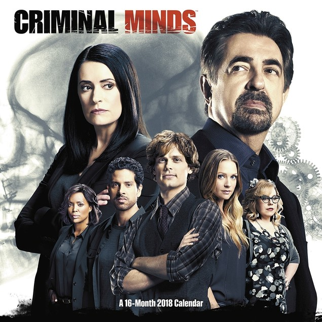 Criminal Minds Wall Calendar, Drama TV by ACCO Brands