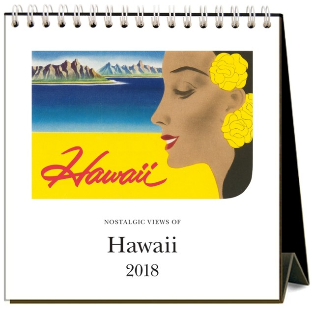 Hawaii Nostalgic Easel Calendar, Hawaii by Calendars