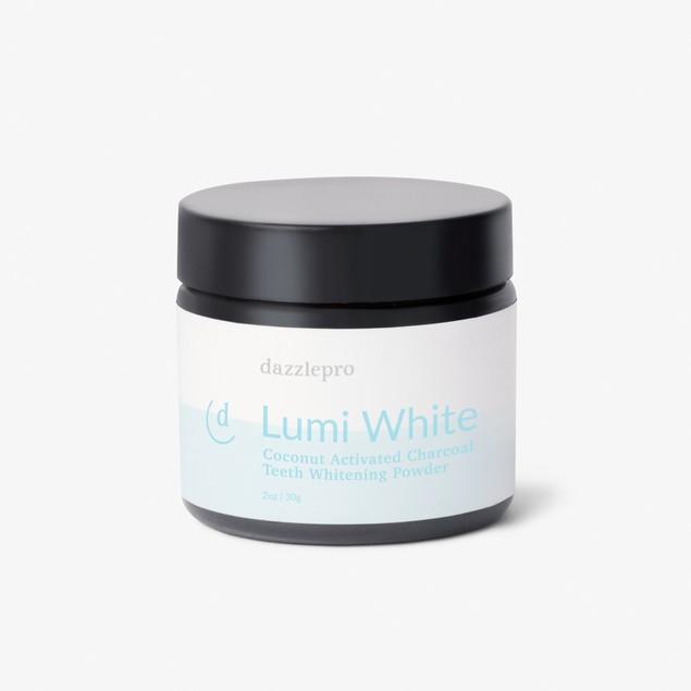 Dazzlepro Lumi White Coconut Activated Charcoal Teeth Whitening Powder