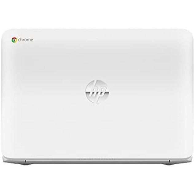 HP Chromebook 14 G1 DC/4GB/16GB, White (Certified Refurbished)