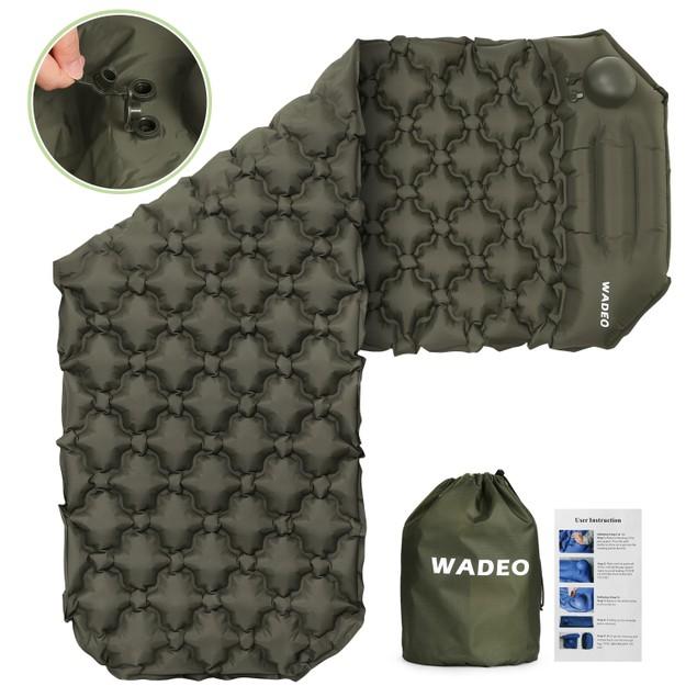 Inflatable camping mat inflatable sleeping pad tent mat hammock mattresses