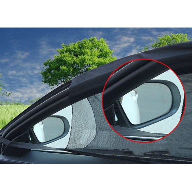 2-Pack Car Window Sun Shade Front Or Rear
