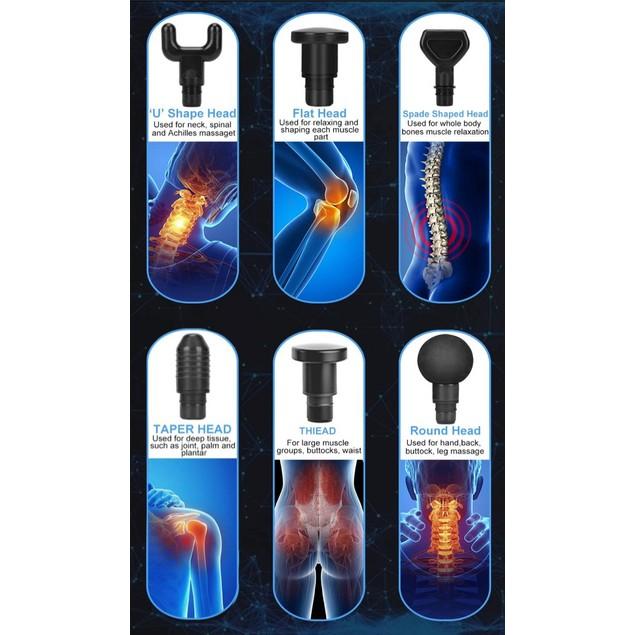 6 Speed Deep Tissue Massage Gun