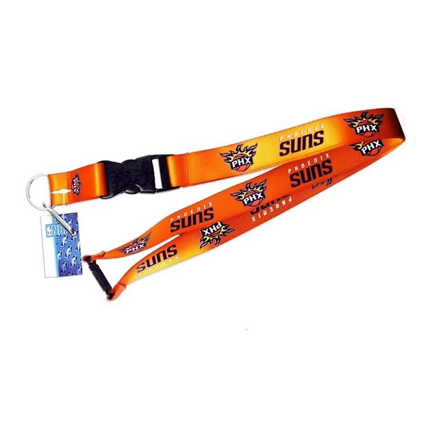 Phoenix Suns Clip Lanyard Keychain Id Holder Ticket NBA - Orange