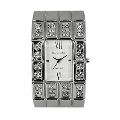 Charles Delon Women's Watches 4691 LPWS Silver/Silver Stainless Steel Quartz