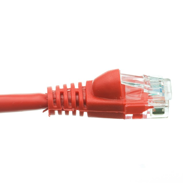 Cat6a Red Ethernet Patch Cable, 35 foot