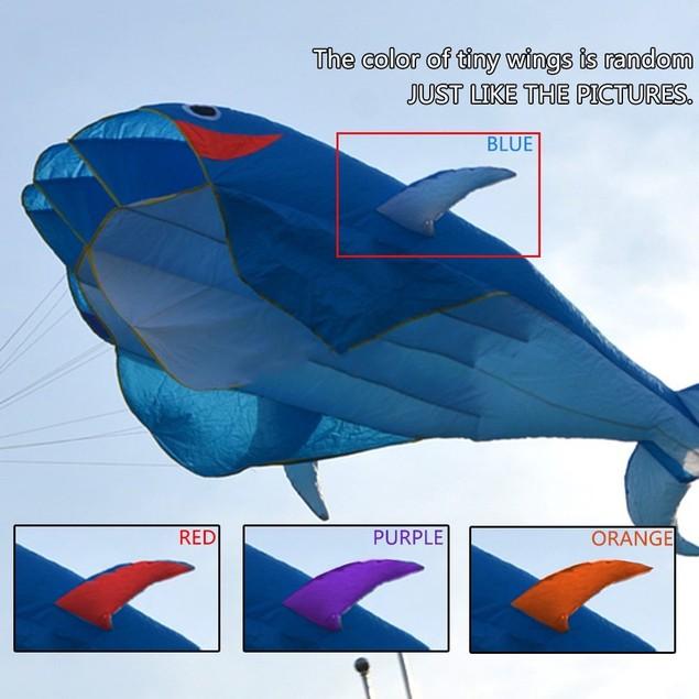IMAGE 3D Kite Huge Frameless Soft Parafoil Giant