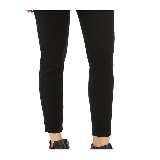 Style & Co Women's Fleece-Lined Jeggings Black Size Medium