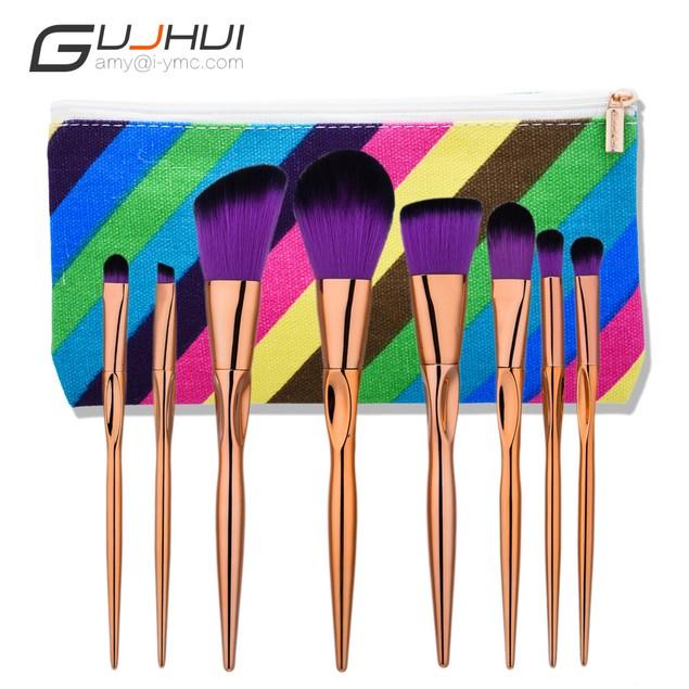 8PCS Make Up Foundation  Blush Cosmetic Concealer Brushes 103