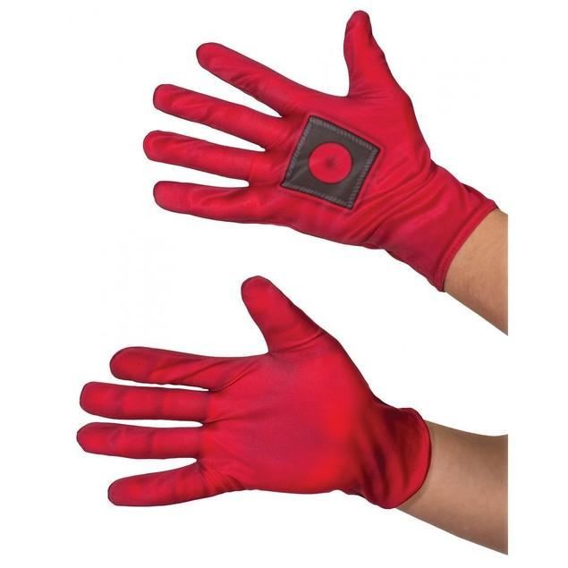 Deadpool Adult Gloves Dead Pool Adult Licensed Muscle Merc Wade Villain