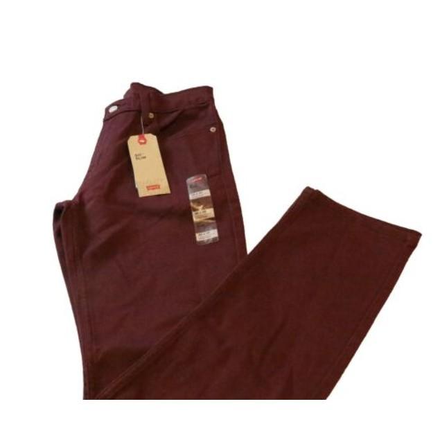 Levi's Men's 511 Slim-Fit ColoredRed Size 30X32