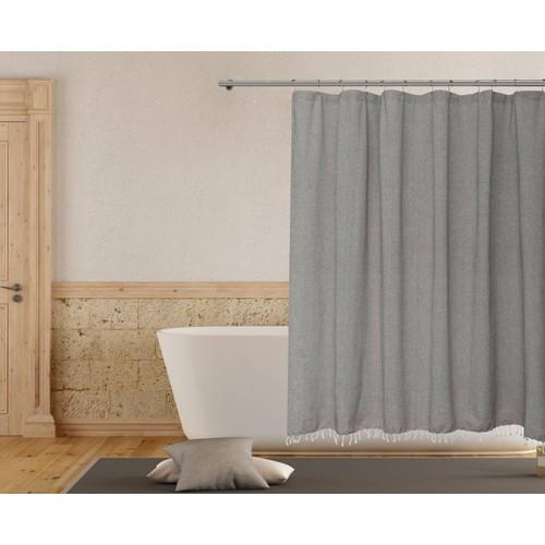 Savi Tassle Shower Curtain