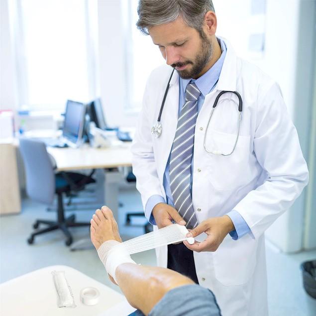 California Basics 24-Pack Gauze Bandage Rolls with Medical Tape