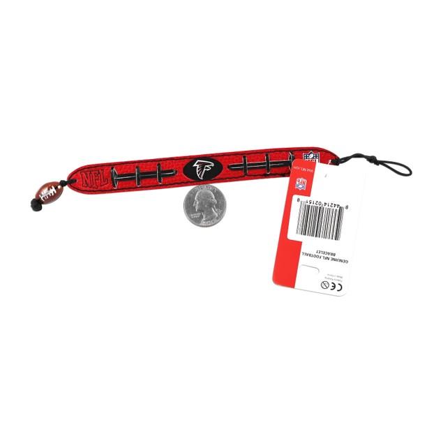 Cleveland Browns Team Color NFL Gamewear Leather Football Bracelet
