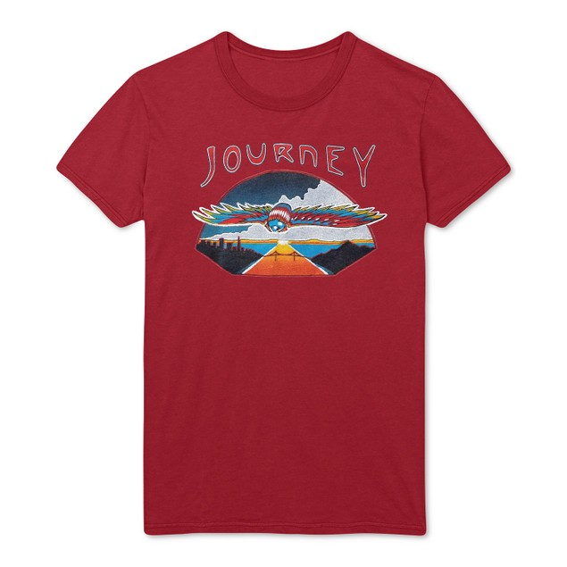Fea Men's Journey Flying Graphic T-Shirt Red Size Medium