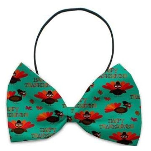 Mirage Pet Products Pet Bow Tie (Happy Thanksgiving)
