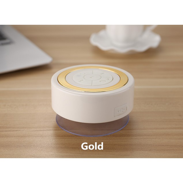 Portable Waterproof Shower Wireless Bluetooth Music Mic For Smartphone