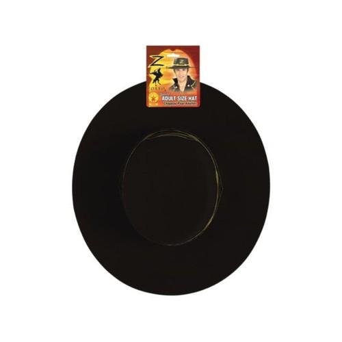 Deluxe Adult Zorro Hat