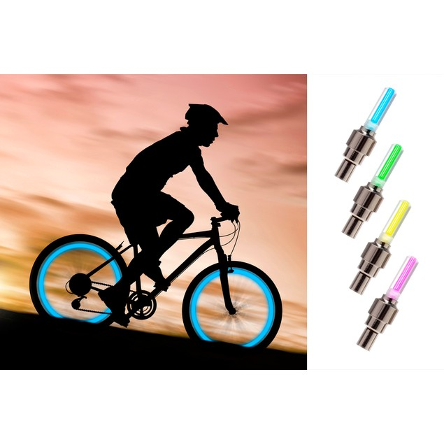 Neon LED Wheel Light 4pk