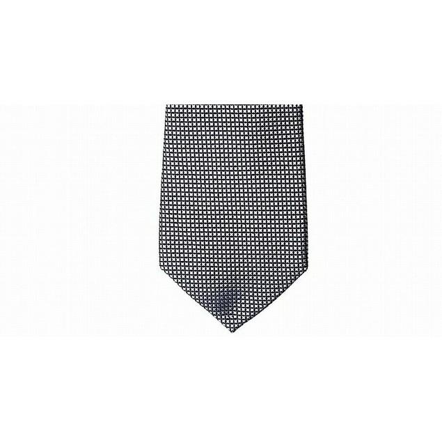 Tommy Hilfiger Men's Navy Micro Silk Tie Gray Size Regular