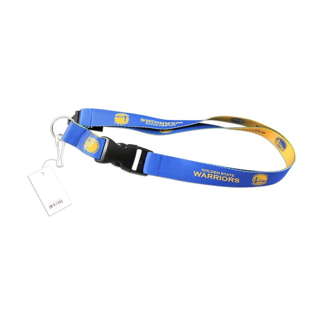 NBA Golden State Warriors Reversible Clip Lanyard Keychain Id Ticket Holder