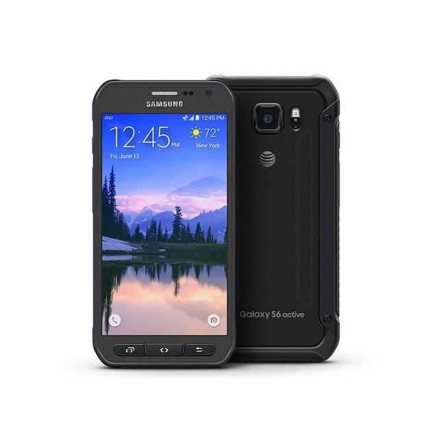 Samsung Galaxy S6 Active, AT&T, Grade B-, Gray, 64 GB, 5.1 in Screen