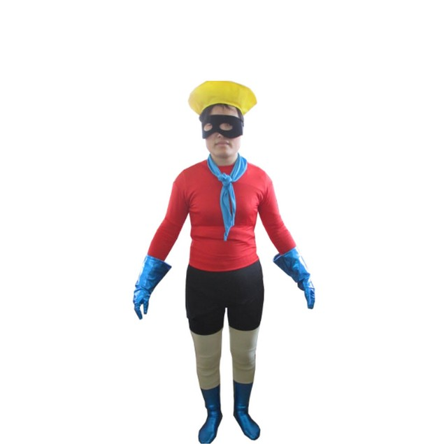 Barnacle Boy Spandex Costume