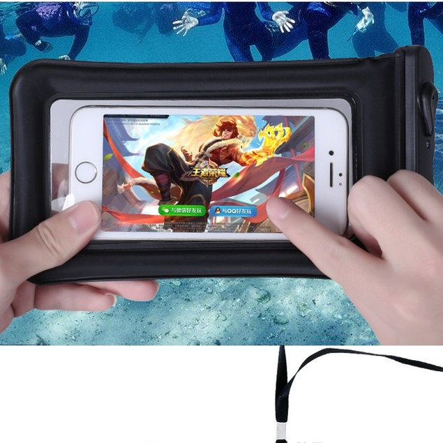 Mobile Phone Waterproof Bag Touch Screen