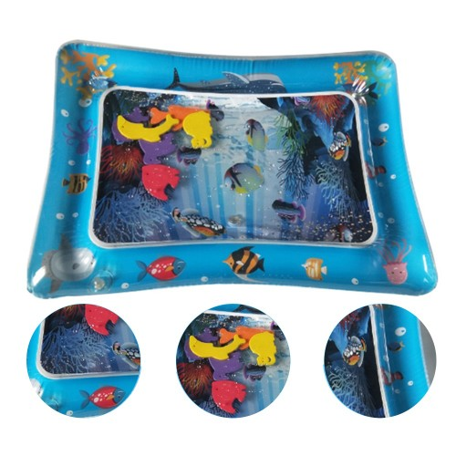 Baby Water Mat Inflatable Play Mat Floor Activity Gym for Kids Crawling