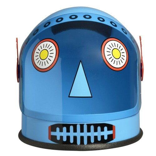 Blue Robot Helmet
