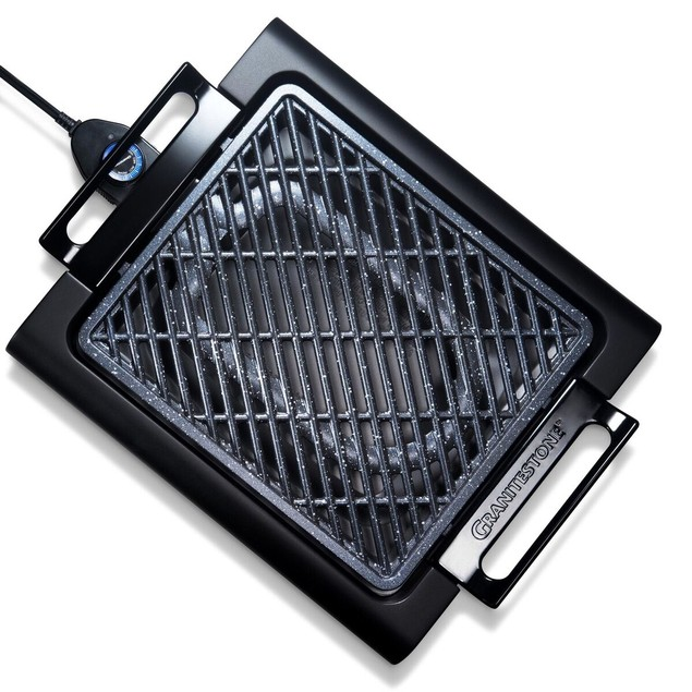 GraniteStone Non-Stick Smokeless Indoor Electric Grill