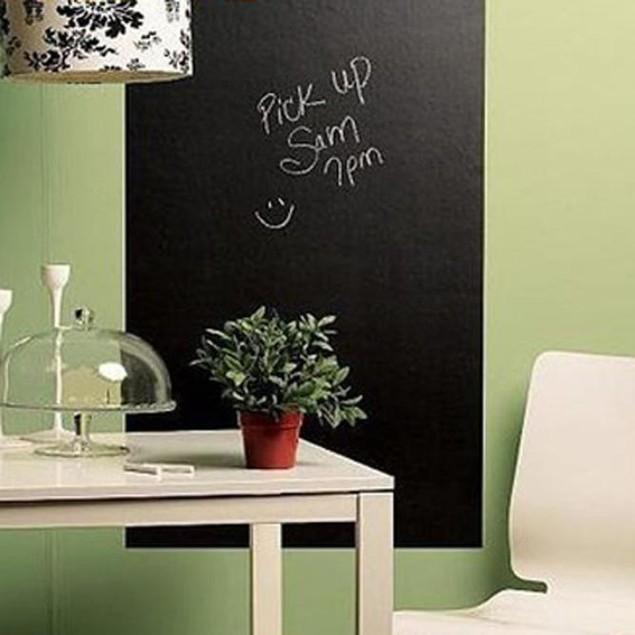 Large Blackboard 60 x 200cm Removable Wall Sticker Chalkboard Decal