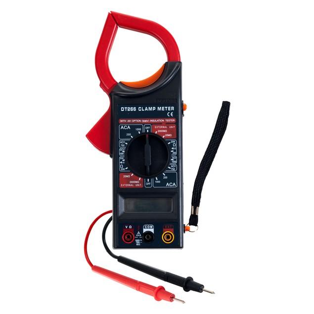 Stalwart Digital Clamp Electronic Volt Amp Meter Kit