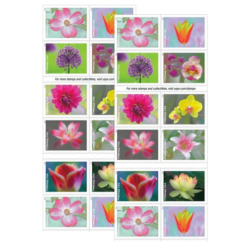 Forever Stamps Garden Beauty