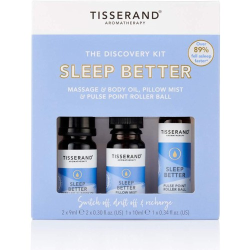 Tisserand Aromatherapy Sleep Better Discovery Kit