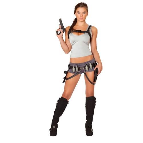 Sexy Treasure Huntress Womens Costume