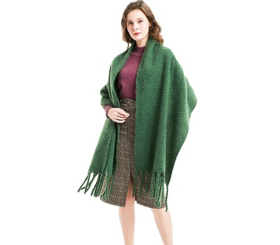 Thick Tassel Circle Thick Scarf Unisex Shawl Was: $27.99 Now: $17.99.