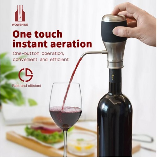 WowShine One Touch Electric Wine Aerator