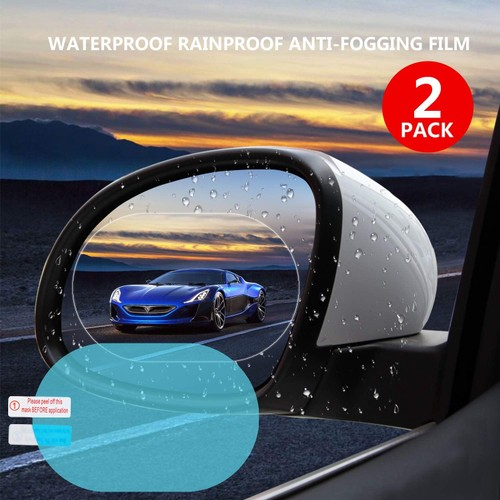 2-Pack Anti Fog/Water Mirror Film
