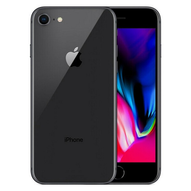 Apple iPhone 8, T-Mobile, Gray, 64 GB, 4.7 in Screen