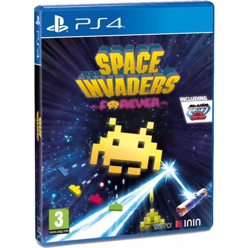 Space Invaders Forever PS4 Game